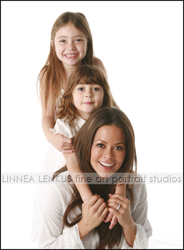 Brooke Burke with Her Older Daughters Neriah and Sierra