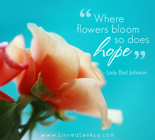 inspirational, quote, image, lady bird johnson, nature, photography