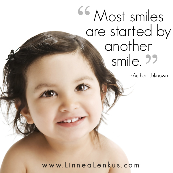 Smiles and children Inspirational Quote