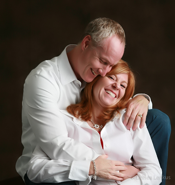 photographer creates a loving moment of a couple
